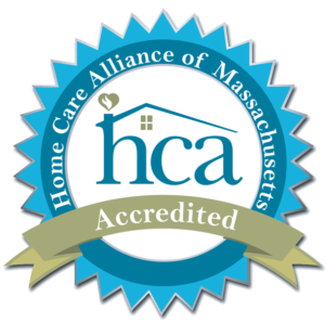 Home Care Alliance of Massachusetts Accredited logo